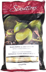 Sensations Black Pepper & Lime Flavour Kettle-Cooked Potato Chips