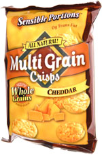 Sensible Portions Multi Grain Chips Cheddar