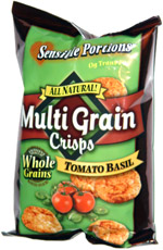 Sensible Portions Multi Grain Chips Tomato Basil