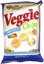 Sensible Portions Veggie Chips Sea Salt