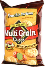 Sensible Portions Multi Grain Chips Apple Cinnamon