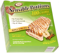 Sensible Portions Apple Strudel 100 Calorie Bar