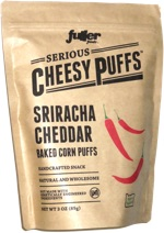 Serious Cheesy Puffs Sriracha Cheddar