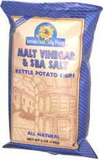 Serious Food ... Silly Prices Malt Vinegar & Sea Salt Kettle Potato Chips