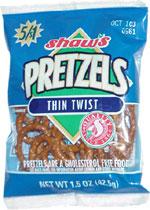Shaw's Thin Twist Pretzels