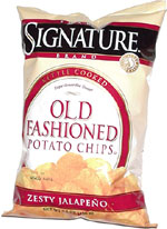 Shaw's Signature Kettle Cooked Old Fashioned Zesty Jalapeño Potato Chips