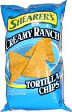 Shearer's Creamy Ranch Tortilla Chips