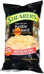Shearer's Reduced Fat Kettle Cooked Extra Crunchy Potato Chips