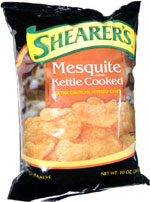 Shearer's Mesquite Kettle Cooked Extra Crunchy Potato Chips