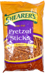 Shearer's Low Fat Pretzel Sticks