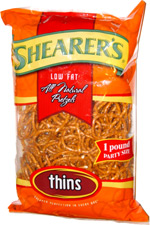 Shearer's Low Fat Pretzel Thins