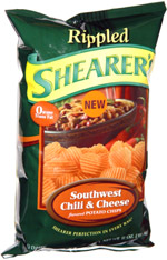 Shearer's Rippled Southwest Chili & Cheese Potato Chips