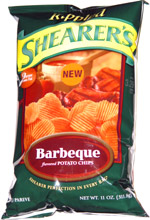 Shearer's Rippled Barbeque Potato Chips