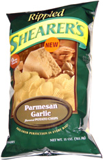 Shearer's Rippled Parmesan Garlic Potato Chips