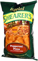 Shearer's Rippled Pepperoni Pizza Potato Chips
