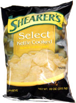 Shearer's Select Kettle Cooked Premium Potato Chips