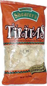 Tiritas 100% White Corn Tortilla Strips