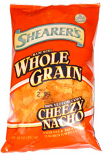 Shearer's Whole Grain Cheezy Nacho Tortilla Chips
