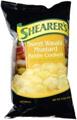 Shearer's Wasabi Mustard Kettle Cooked