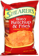 Shearer's Wavy Ketchup & Fries Potato Chips