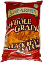 Shearer's Whole Grain Black Bean & Salsa Tortilla Chips
