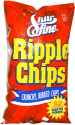 Shur Fine Ripple Chips