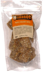 Simbree Maple Walnut Bites