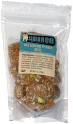 Simbree Oat Almond Pistash Bites