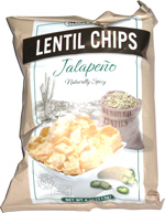Simply 7 Lentil Chips Jalapeño