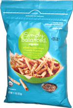 Simply Balanced Organic Rolled Tortilla Chips 7 Grains & Seeds