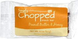 Simply Chopped Snack Bar Peanut Butter & Honey
