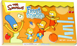 The Simpsons Fruit Snacks