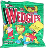 Wedgies Cheeky Cheese Flavour Snax
