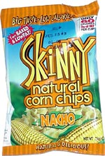 Skinny Natural Nacho Cheese Corn Chips