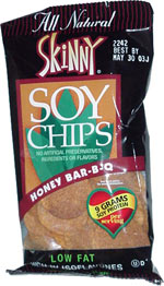 Skinny Soy Chips Honey Bar-B-Q