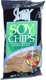 Skinny Soy Chips Lightly Salted