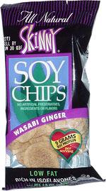 Skinny Soy Chips Wasabi Ginger