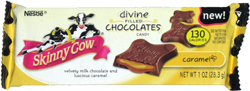 Skinny Cow Divine Filled Chocolates Caramel
