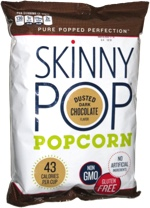 Skinny Pop Dusted Dark Chocolate
