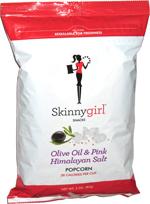 Skinnygirl Olive Oil & Pink Himalayan Salt Popcorn