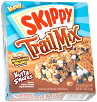 Skippy Trail Mix Bars Nutty S'mores