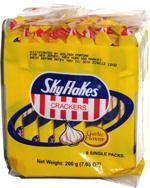 SkyFlakes  Garlic Flavor