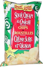 Smart Choice Sour Cream & Onion Chips