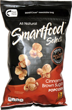 Smartfood Selects Cinnamon Brown Sugar Popcorn