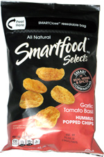 Smartfood Selects Garlic Tomato Basil Hummus Popped Chips
