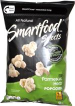Smartfood Selects Parmesan Herb Popcorn