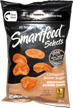 Smartfood Selects Cinnamon Brown Sugar Multigrain Popped Chips