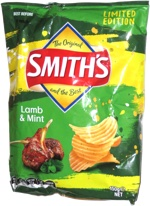 Smith's Lamb & Mint Flavoured Crinkle Cut Potato Chips