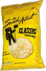 The Snack Artist Classic Potato Chips