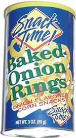 Snack Time! Baked Onion Rings